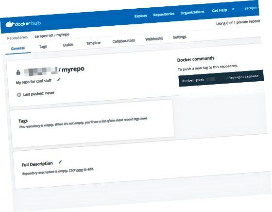 Хранилище на Docker Hub