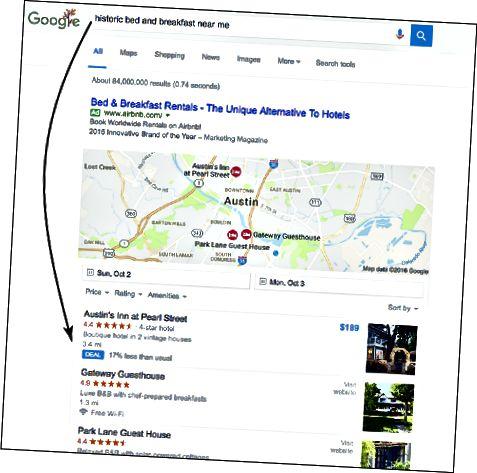 søgeforespørgsel Google