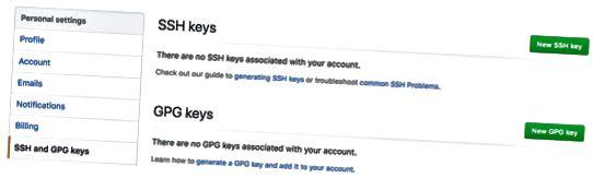 GitHub SSH og GPG nøgler