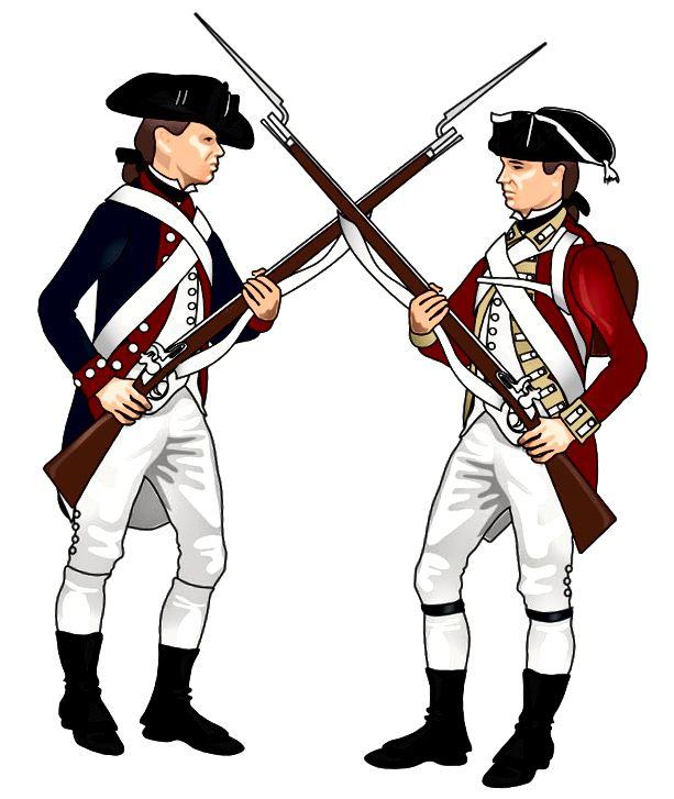 Американски революционни войници