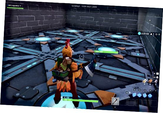Lundle's Puzzle Escape Fortnite Creative-kode