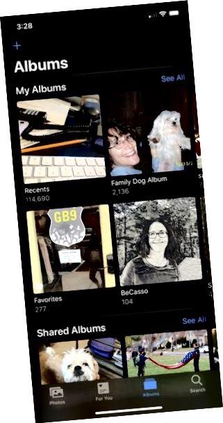 iPhone तस्वीरें एप्लिकेशन