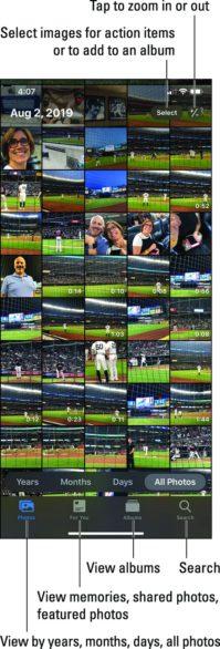 iPhone सभी तस्वीरें