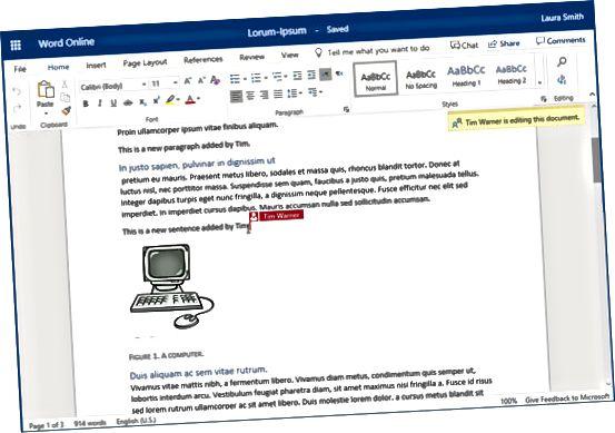 Zajedničko uređivanje u SharePoint Onlineu