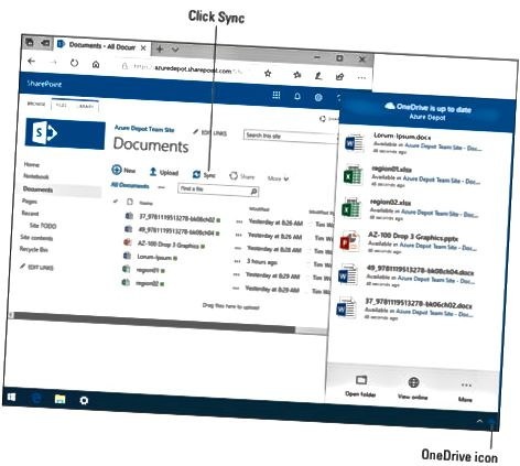 Izvanmrežne datoteke SharePoint