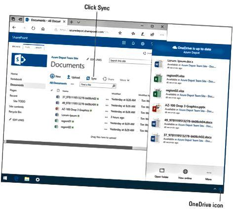 Pliki SharePoint offline