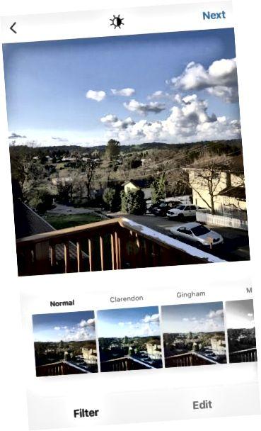 Instagram-filtre
