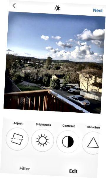 Инструменты редактирования Instagram