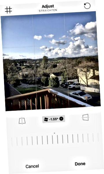 настроить фотографию в Instagram