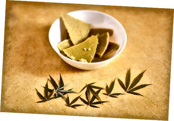 cannabis-infundert smør