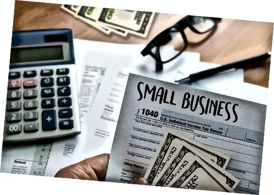 Small business regnskap