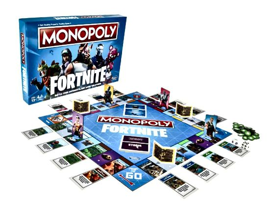 Fortnite Monopoly-spel