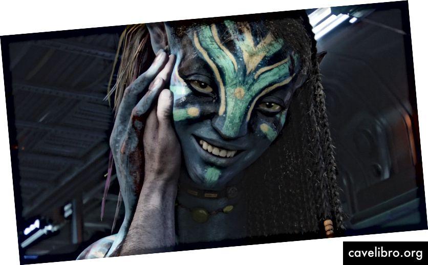Trong phim James Cameron, bộ phim Avatar, Avatar Tôi thấy bạn là người trong tiếng Hàn có nghĩa là tôi yêu bạn, hay chúng tôi đều là một người. Công ty của bạn có nhìn thấy khách hàng của mình không? Nhân viên của nó?