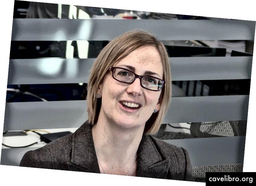 Dr Mairi Gibbs yra Oksfordo universiteto inovacijų operacijų vadovė