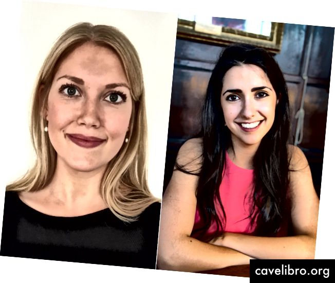 """Roxanna ir Emma yra """"DPhil"""" studentai Oksforde ir alumnai iš Vakarų universiteto Kanadoje"""