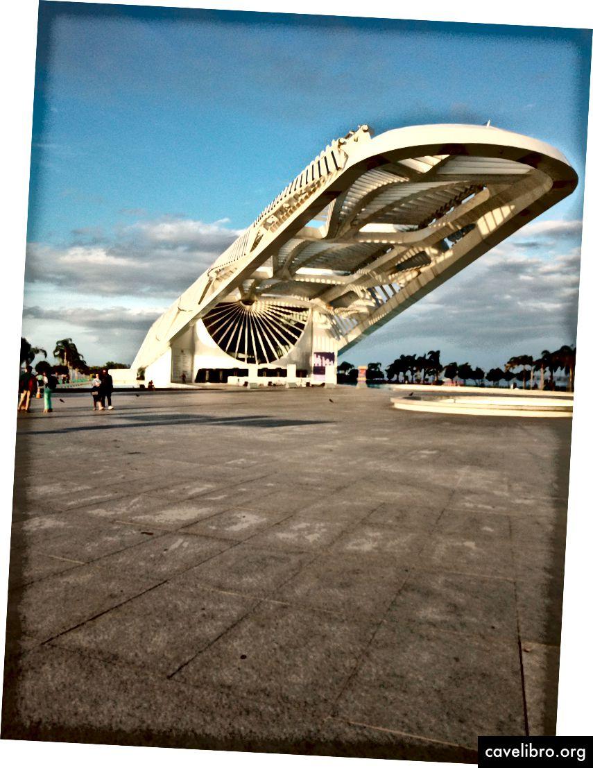 Huomisen museo, Rio De Janeiro - symposiumin paikka