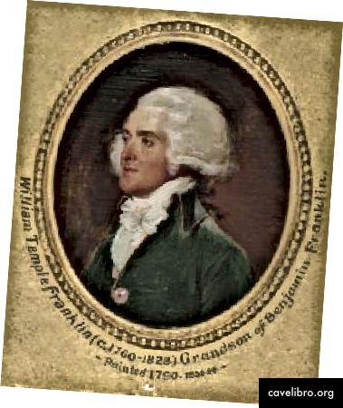 जॉन ट्रम्बल, 1790 द्वारा विलियम टेम्पल फ्रैंकलिन का चित्रण। येल यूनिवर्सिटी आर्ट गैलरी।