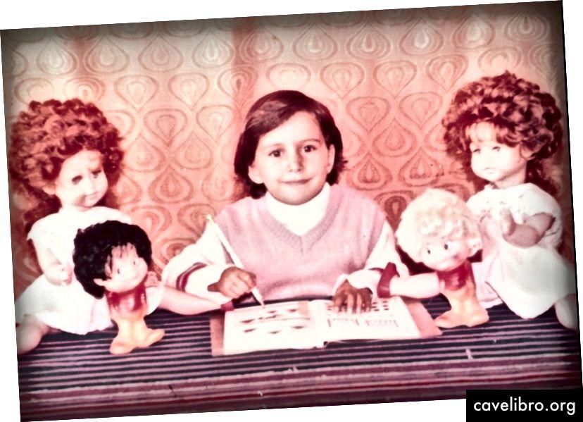 Stefania négy éves, óvodai óvoda Romániában. Hitel: Tatiana Druga