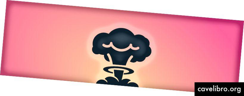 Boom! Un champignon qui illustre à quel point Atomic Research est explosif.