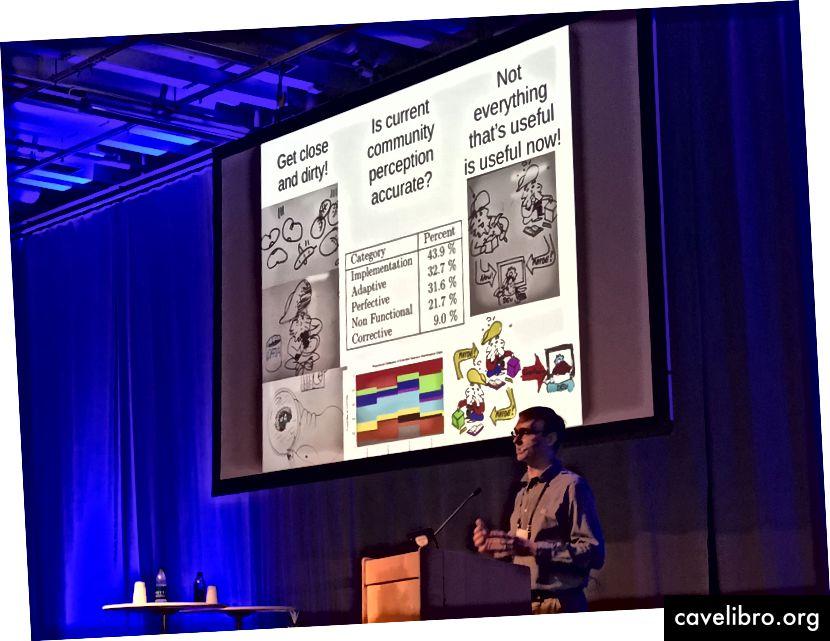 अब्राम वृद्धिशील वैज्ञानिक प्रगति की आवश्यकता के बारे में बात कर रहे हैं।