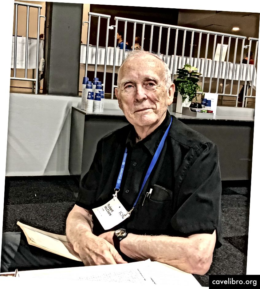 रॉबर्ट मैकक्लेर, 1968 नाटो सम्मेलन के उपस्थित लोगों में से एक।