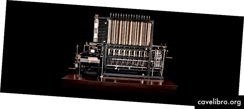 Babbage Difference razlika br. 2 © Dan Winters, ljubaznošću Muzeja povijesti računala