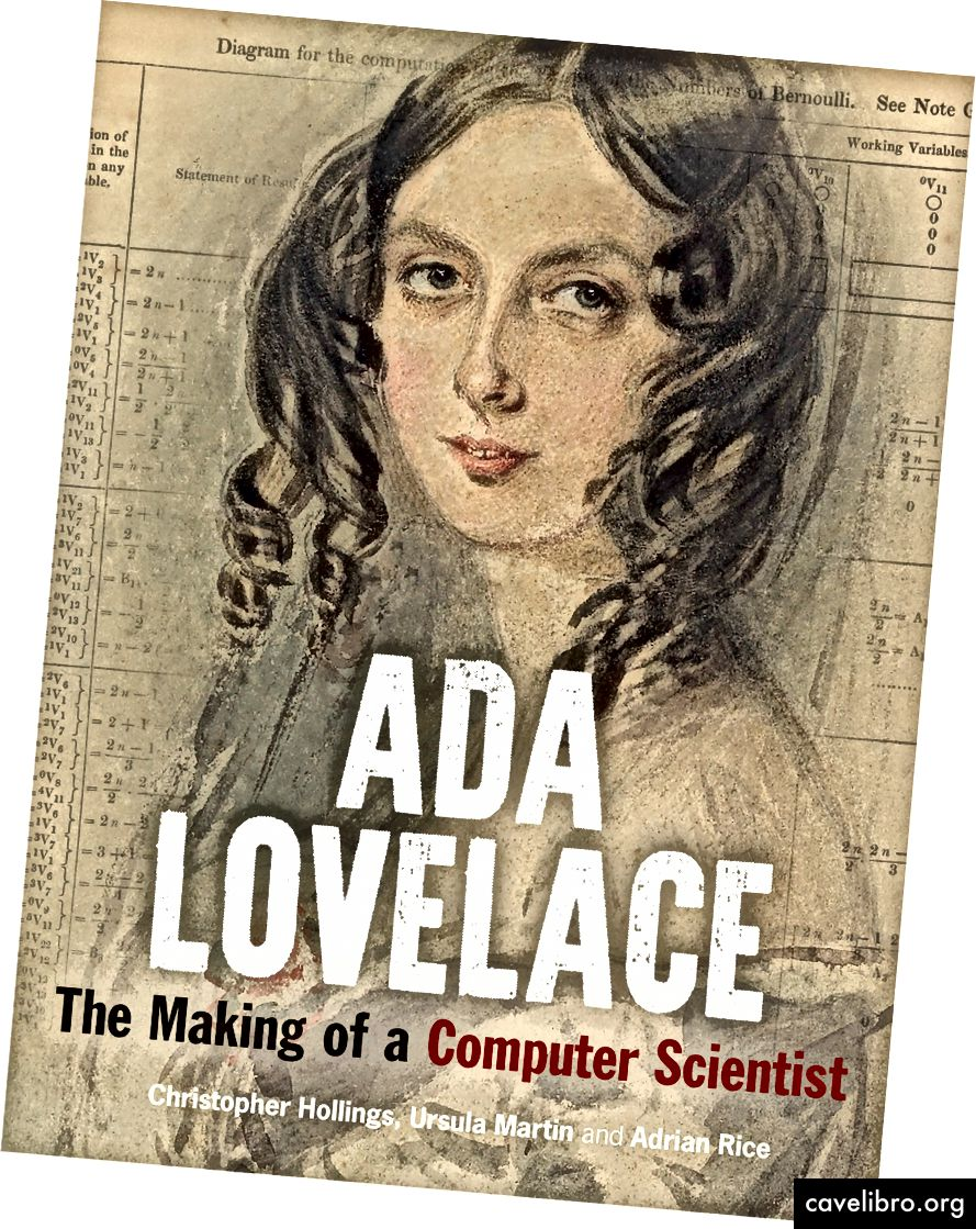 ADA LOVELACE: LA FABRICATION D'UN SCIENTIFIQUE INFORMATIQUE par Christopher Hollings, Ursula Martin, Adrian Rice est publié par Bodleian Library Publishing, à £ 20 HB.