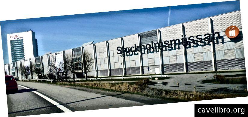 La ICML 2018 se tient à Stockholmsmässan, Stockholm, Suède