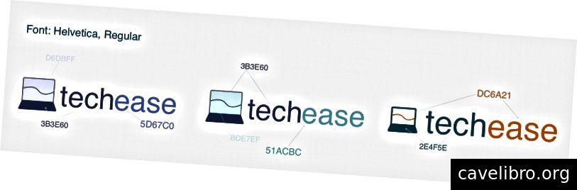 Itérations de notre logo
