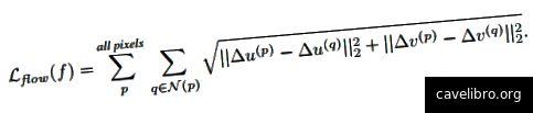 stAdv L2 की दूरी के लिए न्यूनतम के बजाय अवधारणात्मक समानता मीट्रिक के रूप में इस नुकसान फ़ंक्शन को कम करने का सुझाव देता है। यहां, (u, v) प्रत्येक पिक्सेल (पी) के स्थानिक स्थान को संदर्भित करता है, एन (पी) एक निर्दिष्ट त्रिज्या के भीतर पी के आसपास के पड़ोसी पिक्सल को संदर्भित करता है, और क्यू पड़ोसी पिक्सल में से एक है। अंत में, एफ प्रवाह क्षेत्र है जो स्थानिक परिवर्तन (ज़ियाओ और ज़ू एट अल।, 2018) की मात्रा को इंगित करता है।