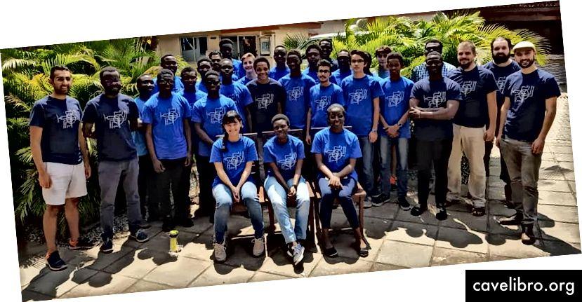 MISE 2018 étudiants, mentors et assistants