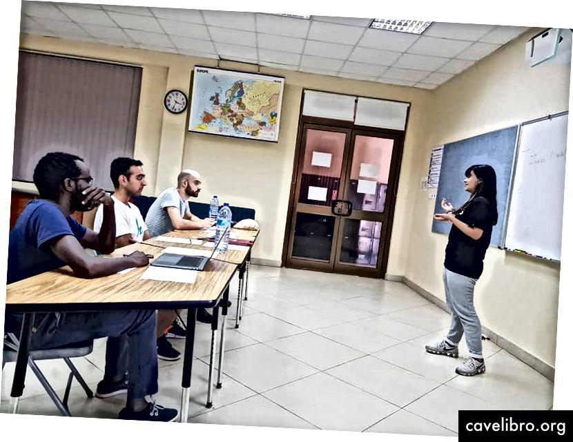 Interviews d'étudiants, alias défense de projets