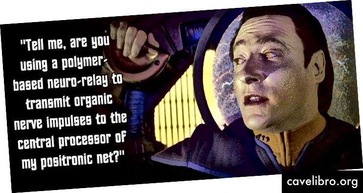 Si vos communications vous font ressembler à un personnage de Star Trek alors qu'ils n'ont pas à le faire, vous allez aliéner les gens.