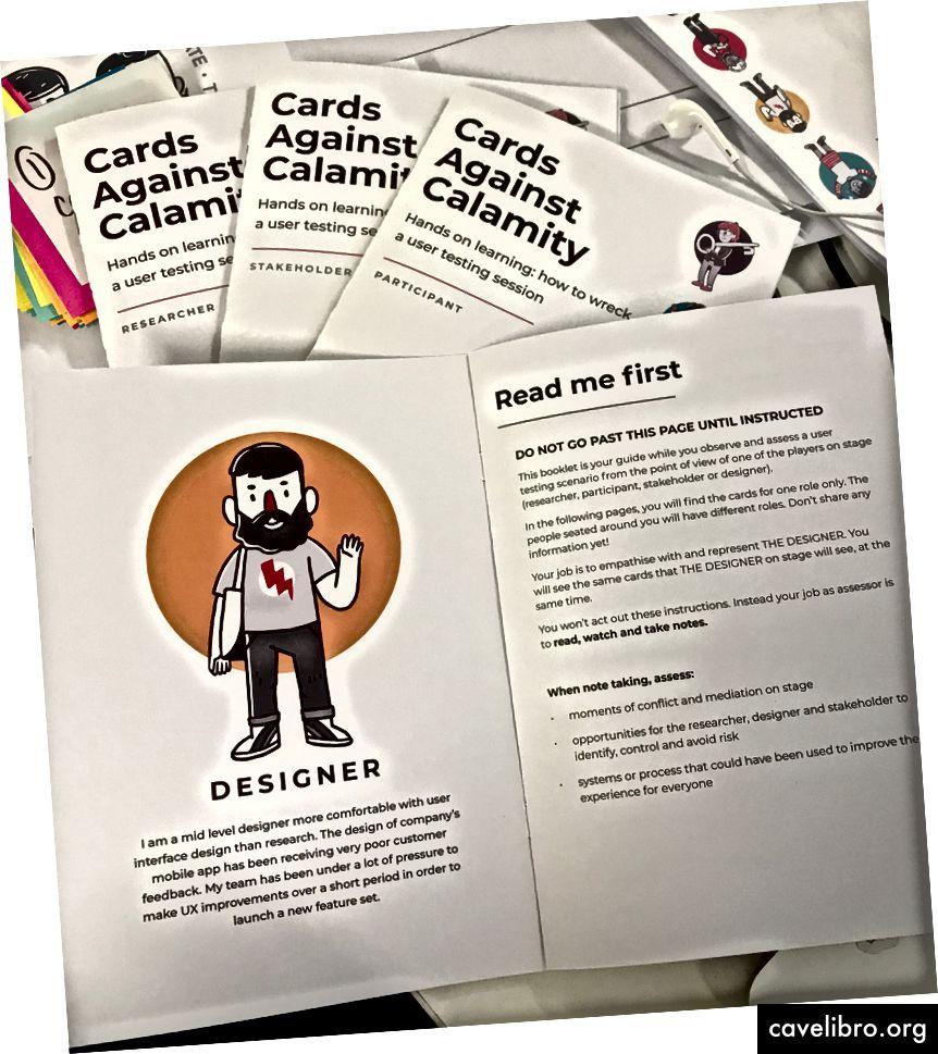 आपदा के खिलाफ कार्ड: से चुनने के लिए चार भयानक भूमिकाएँ