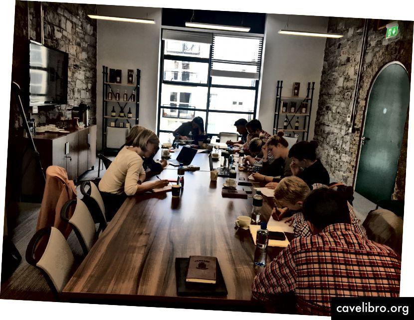 Atelier avec les parties prenantes de Jameson et les propriétaires de produits à Dublin