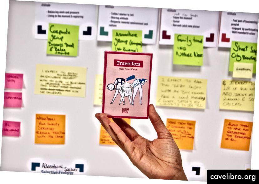 कार्ड के पहले डेक को पर्यटन पर ध्यान देने के साथ डिजाइन किया गया था। हम पहले से ही इस समय कंपनियों में कर्मचारियों के लिए कार्ड का एक नया सेट विकसित करने में व्यस्त हैं।