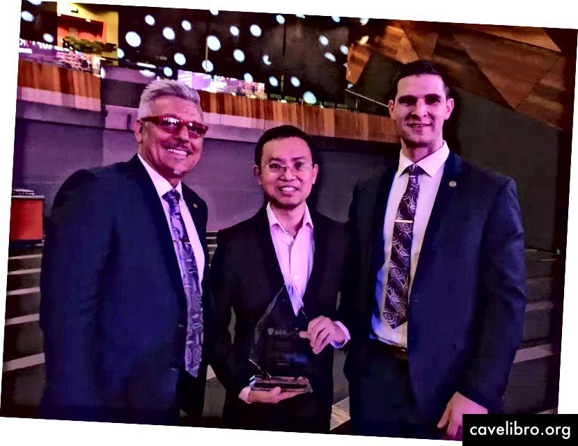 Zľava doprava Adam Geri, generálny riaditeľ Hcash | Joseph Liu, vedecký vedec Hcash | Andrew Wasylewicz, Hcash COO
