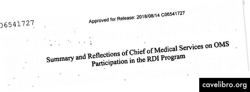 """Iš titulinio CŽV išslaptinto dokumento apie savo slaptą """"RDI programą"""""""