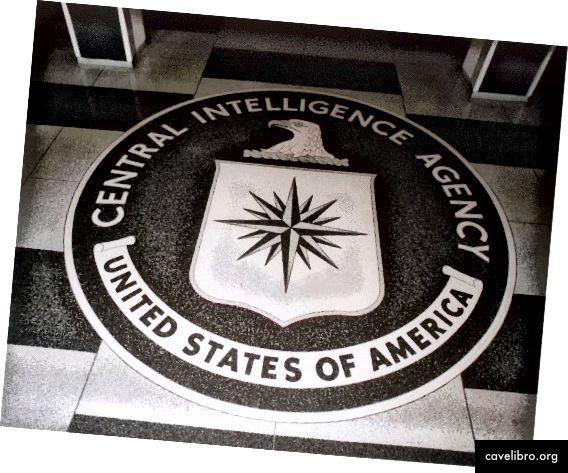 CIA: n aulan kerroksesta hallituksen valokuva julkisessa omistuksessa