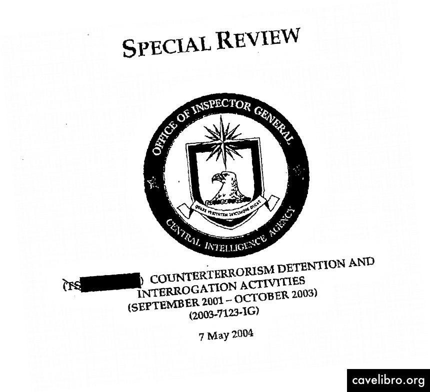 Iš CŽV titulinio puslapio išslaptinto dokumento apie kovos su terorizmu sulaikymo ir tardymo veiksmus