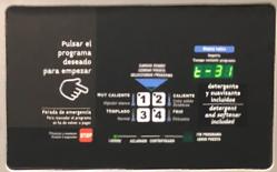 Pomimo mojej biednej katalońki mogłem z powodzeniem prać moje ubrania w Barcelonie dzięki ikonom