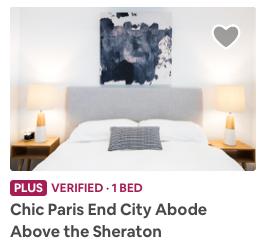 Airbnb Lưu một tài sản