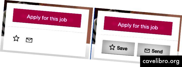 Etykiety dodają kontekst do ikon