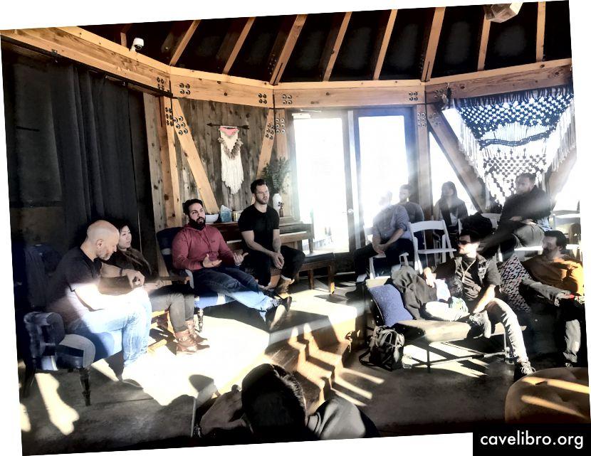फ़ाइनेंस पैनल (बाएं से दाएं): जॉन फ़फ़र (फ़िफ़र कैपिटल), सिंडी चेन, काइल समानी (मल्टीकोइन कैपिटल), ट्रैविस क्लिंग (इकागी एसेट मैनेजमेंट)