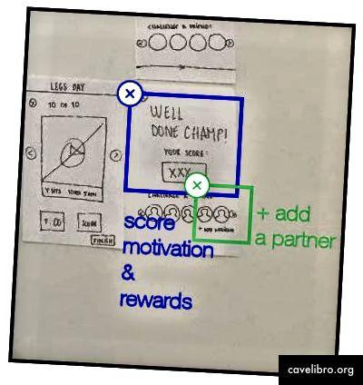 Système de motivation des scores et récompenses + Ajout d'une fonctionnalité partenaire