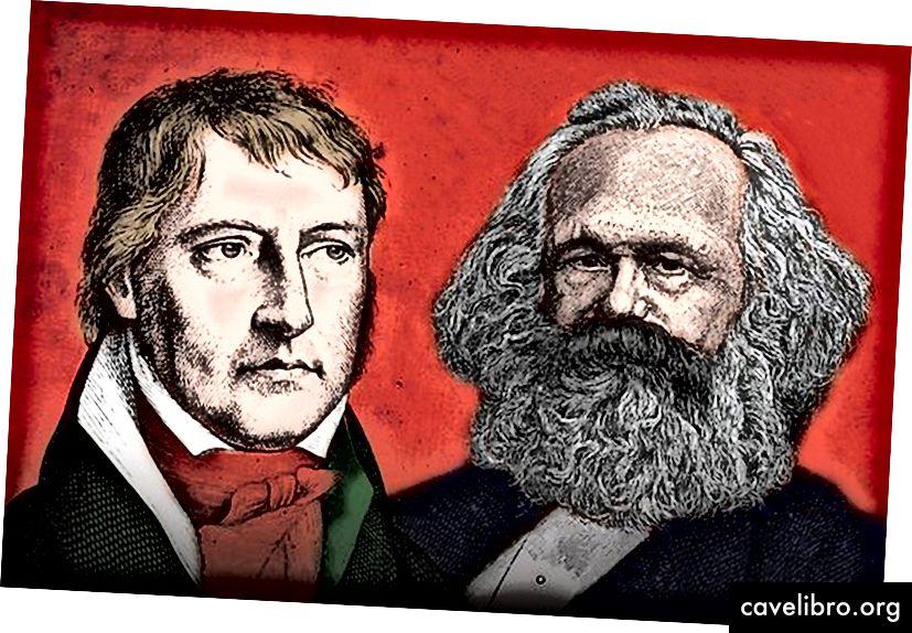 Hegelis ir Marksas
