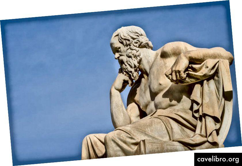 śmierdzący filozof Sokrates. Nice_Media_PRO / Shutterstock.com