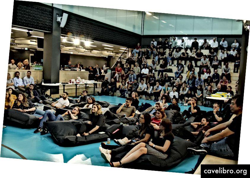 Edastage Meetup, mis toimus meie Roo Pigi saalis 10. septembril 2018