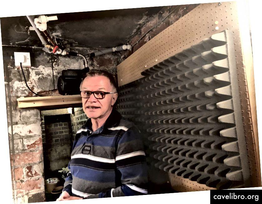 """David a Hucknall-ban feltárja pince szivattyújának és stúdiójának """"rejtett"""" energiafelhasználását"""