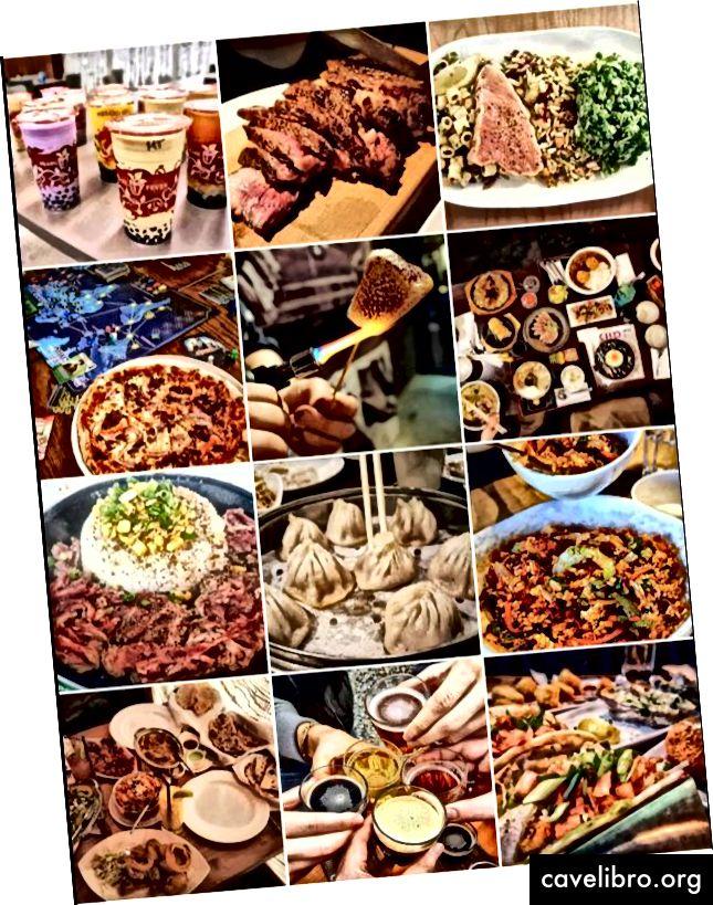 @foodyensation à son meilleur. 1 mois de travail - 12 restaurants, 25 000